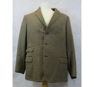 Austin Reed vintage jacket brown check Size: L