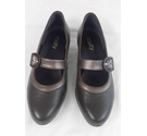 Equity Maxine Court Shoes Brown Size: 5