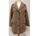 Unbranded Vintage Sheepskin Coat Brown Size: 14