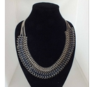 Next Silver Tone Necklace