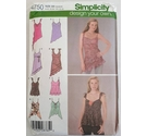 Simplicity Sewing Pattern 4750 Uncut, Misses Design Your Own Tops, Size DD 4,6,8,10
