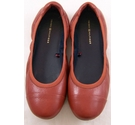 Tommy Hilfiger Leather Pumps Rust Size: 6