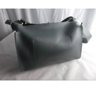 Red Cuckoo Leather Handbag Grey Size: One size