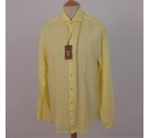 Stenstroms Long-Sleeved Shirt Lemon Yellow Size: XL