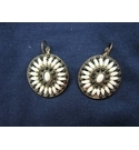 Clip On Earrings Retro Vintage