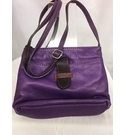 Unbranded Crossbody Bag purple & brown Size: S