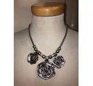 Chunky Rose Necklace