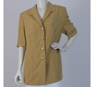 Gerry Weber Short-Sleeved Jacket Gold Size: 14