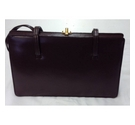 Wilkinsons of Norwich Leather Handbag Brown Size: One size