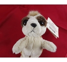Russ Berrie & Co Plush Stuffed Animal Soft Monty Meerkat Toy