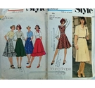 Two Vintage Style Patterns Size 16