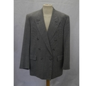Crombie Mens suit jacket, Grey Size: XL