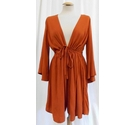 Asos Long sleeve Playsuit Cinnamon Size: 10