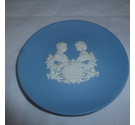 "Wedgwood commerative 4"" plate, royal birth 1982"