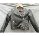 Ted Baker Leather look biker jacket Black Size: 8 - 9 Years