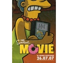7 Posters advertising the Simpsons Movie
