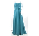 BNWT - Wtoo - Size: 10 - Blue - Full-Length Prom dress