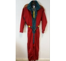 True Vintage SOS Redline Ski Suit in Bright Red Size: M