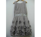 Monsoon Glittery party dress Silver Size: 12-13 Years