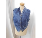 GJ United Denim Look Gilet Blue Size: 15 - 16 Years