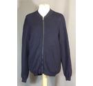 BNWT -Massimo Dutti- cardigan with zip- Navy Blue- Size: XL