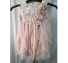 George bridesmaid's/party dress peachy-pink Size: 18 - 24 months