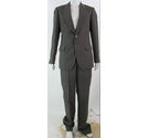 Unbranded single-breasted suit dark oak Size: M