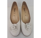 Gabor leather shoes cream Size: 5.5