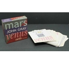 Set of Fifty 'Men are from Mars and Women are from Venus' Cards by John Gray