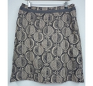 White Stuff Reversible Skirt Grey/Nude Size: 10