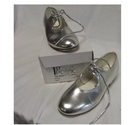 1st Position Child's silver tap shoes Silver Size: 13