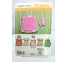 Simplicity Pattern 4709 Baby Girl Outfit