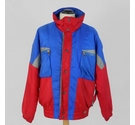 Tyrolia Retro Sports/Ski Jacket Blue & Red Size: M