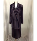 Windsmoor Three piece skirt suit Pink and Blue Size: 12