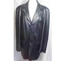 Austin Reed leather jacket black Size: L