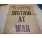 The Times : Supplement from 2014 : Britain at War : How The Times Covered the First World War