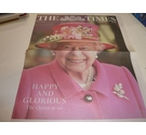 The Times : Souvenir Edition : Supplement : Happy and Glorious : The Queen at 90