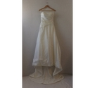 Beaded Sleeveless A-line Wedding Dress by Ginni, Size 8
