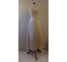 Alfred Angelo Sleeveless Champagne Wedding Dress, Size 10