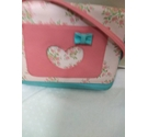 Monsoon Crossbody Bag Pink and Teal Size: S