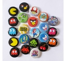 Lot of video game themed badges