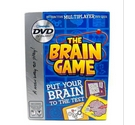 The Brain Game: interactive multiplayer dvd quiz