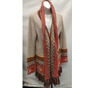 Desigual Thick Yes! Cardigan Beige Size: XL