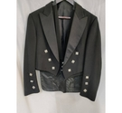 100% Wool Scottish Prince Charlie kilt jacket and waistcoat