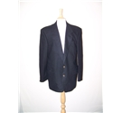 M&S Marks & Spencer Single breasted suit jacket Black Size: M