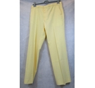 St Michael vintage casual slacks yellow Size: 36 waist