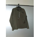 The North Face zip topped sweatshirt green Size: M