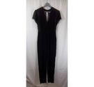 Sandro Paris Plain Black Jumpsuit Black Size: 10