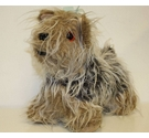 Vintage Long haired Yorkshire Terrier stuffed dog, rare and collectable
