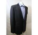 Hahn Two-piece Made to Measure Suit Black Size: L